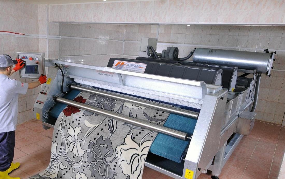 Maszyna do prania dywanów na wskroś